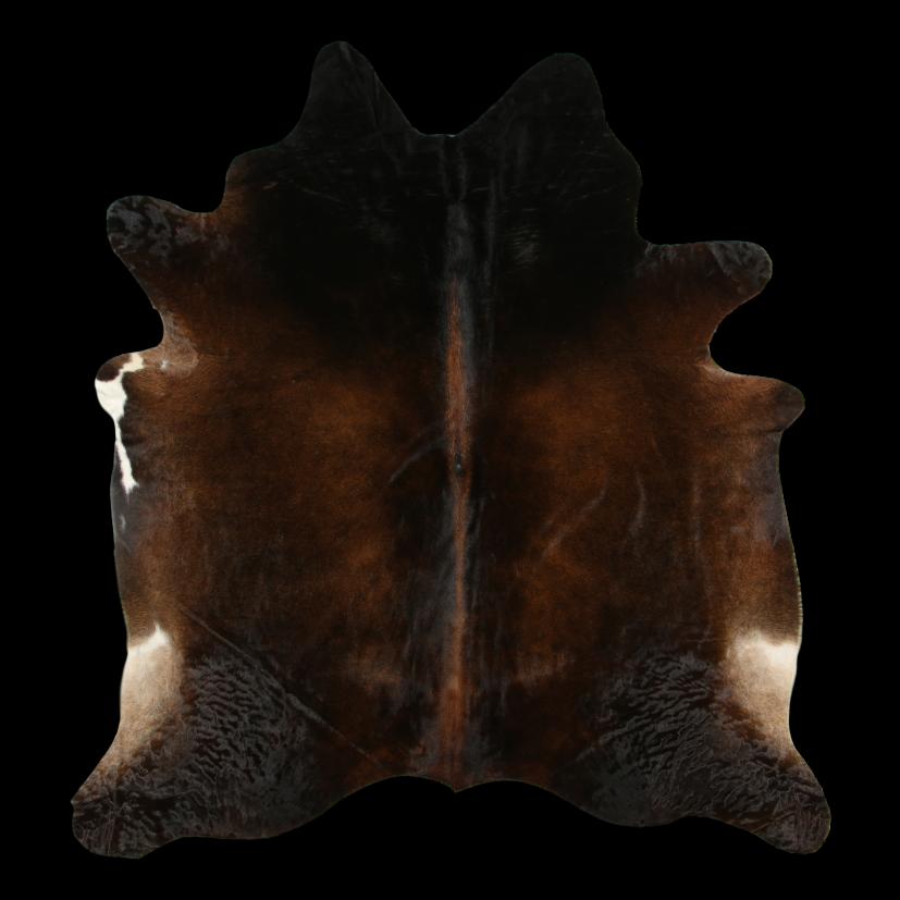 Kuhfell   Dunkelbraun
