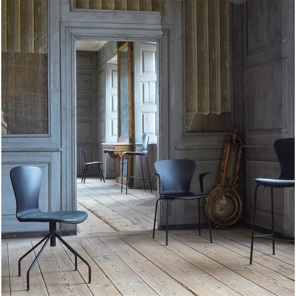 Playswing-Stuhl mit Armlehne | Schwarz