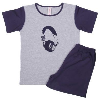 Boy Jersey Pyjama Headphone