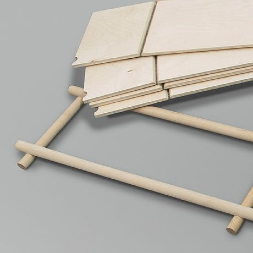 Rack Foldin 1x3 +2 Shelves DISCONTINUED