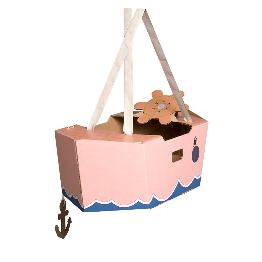 Mister Tody's Boat   Pink