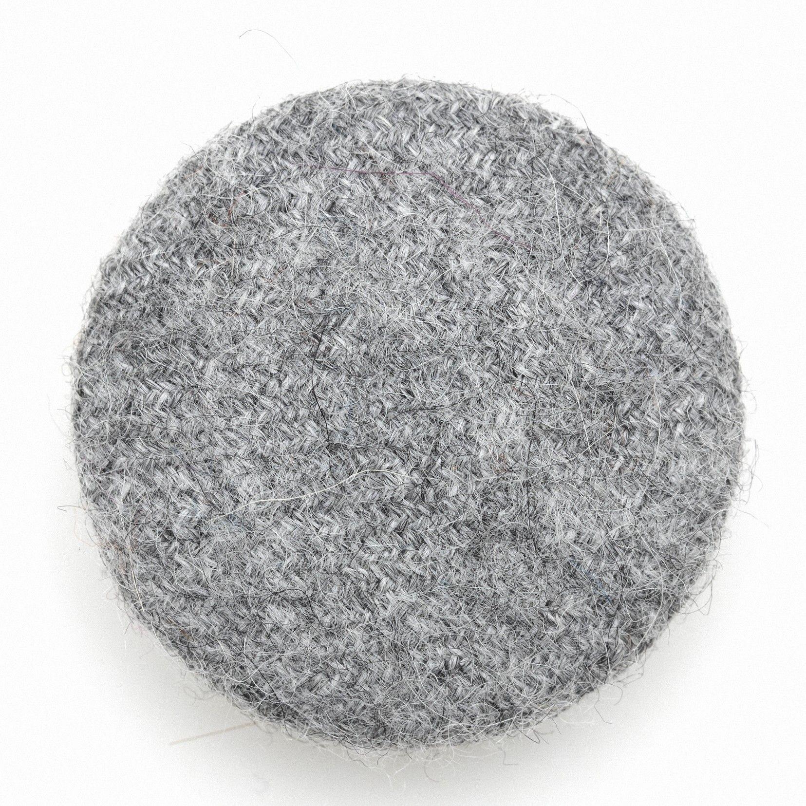 Coussin créatif gris foncé grand