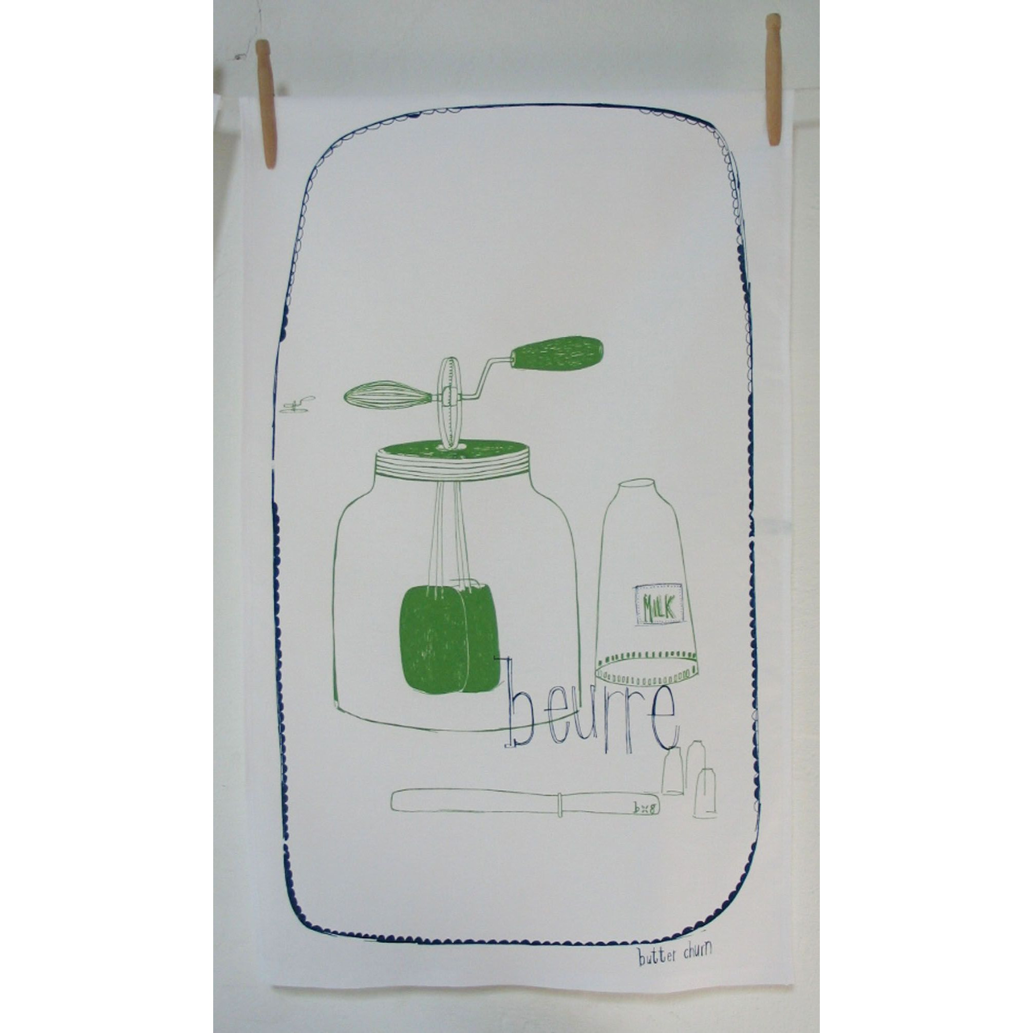 Tea Towel Butter
