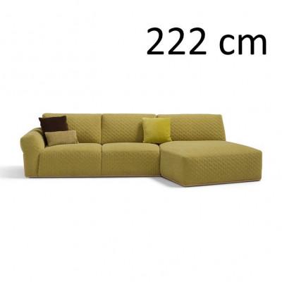 Sleeping Sofa Bubble L 222 cm | Green