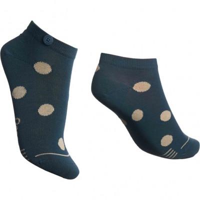 Damen-Socken Low Bubble   Grün