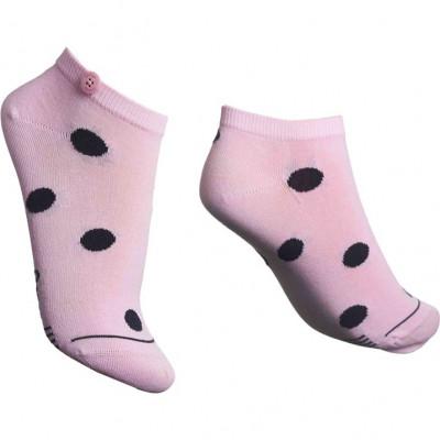Damen-Socken Low Bubble   Pink