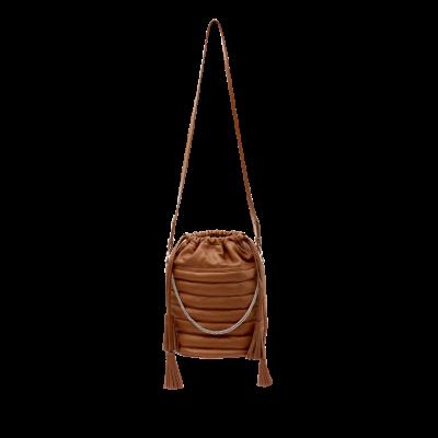 Motard Bucket Bag | Camel