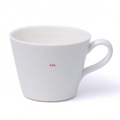 "Set of 2 Bucket Mugs ""Hot"""