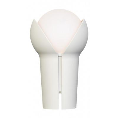 Wiederaufladbare Tragbare LED-Lampe Bud   Aschgrau