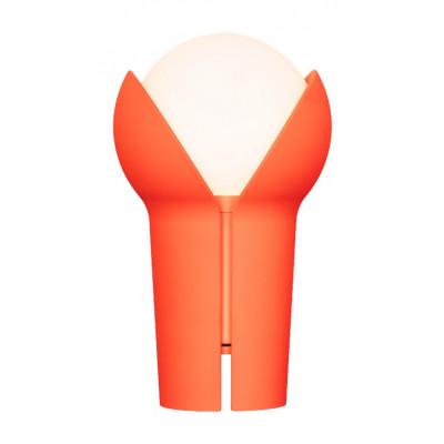 Wiederaufladbare Tragbare LED-Lampe Bud   Orange