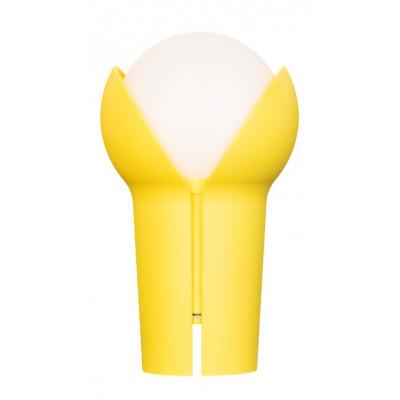 Wiederaufladbare Tragbare LED-Lampe Bud   Zitronengelb