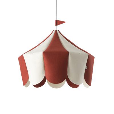 Hanging Lamp Circus | Red