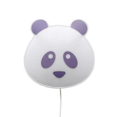 Wall Lamp Panda | Violet
