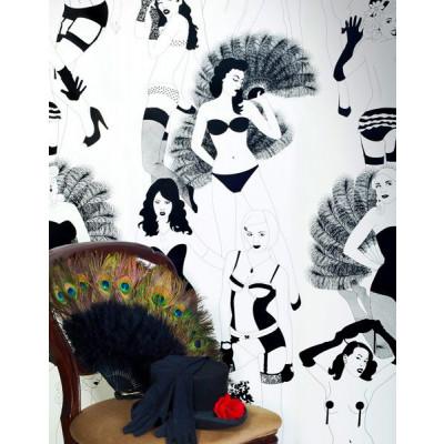 Burlesque Wallpaper