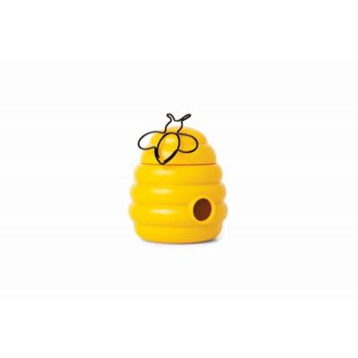 Büroklammern im magnetischen Behälter | Fleißige Bienen