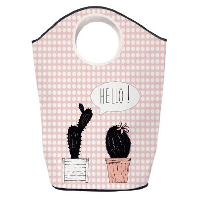 Storage Bag Cactus Says Hello