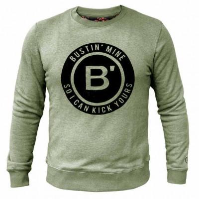 BVLLIN Bustin' Sweater    Green