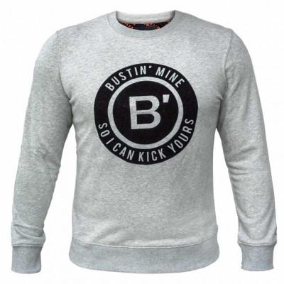 BVLLIN Bustin' Sweater    Grey
