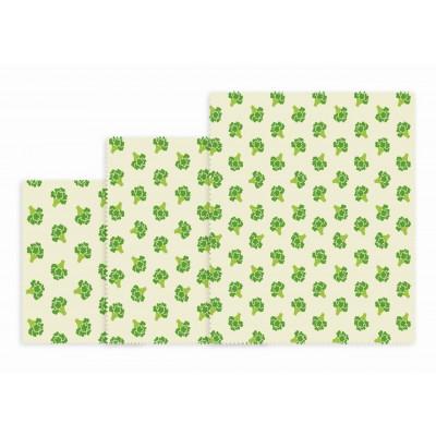 Wiederverwendbares Lunchpaket mit 3 Stück   Brokkoli