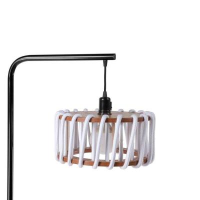 Stehleuchte Macaron 30 cm | Schwarz / Weiß