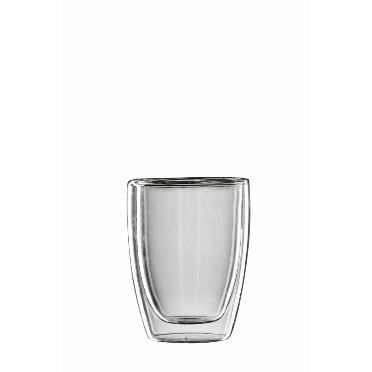 Roma-Cappuccino-Glas | Satz von 2