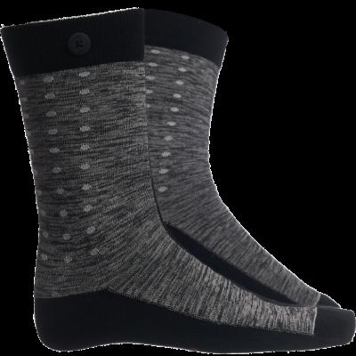Männer Socken Dograce | Schwarz & Grau