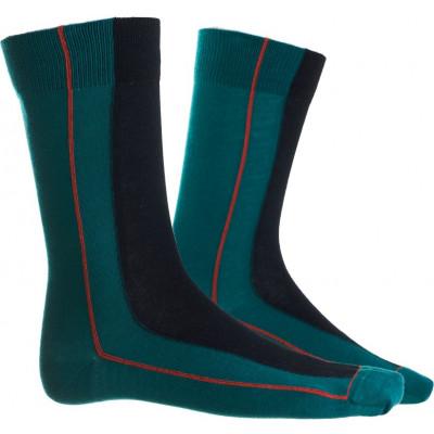 Männer Socken Cap | Schwarz & Grün