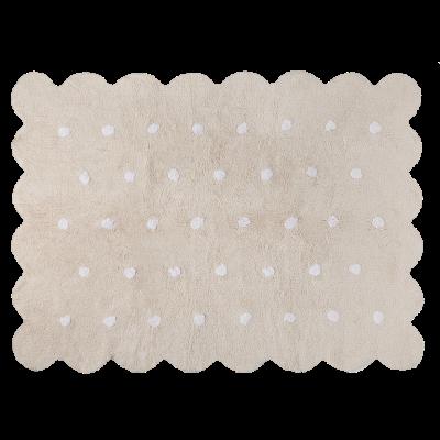 Waschbarer Teppich  | Biscuit | Beige