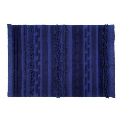 Waschbarer Teppich  | Alaska | 200 x 140 cm | Blau