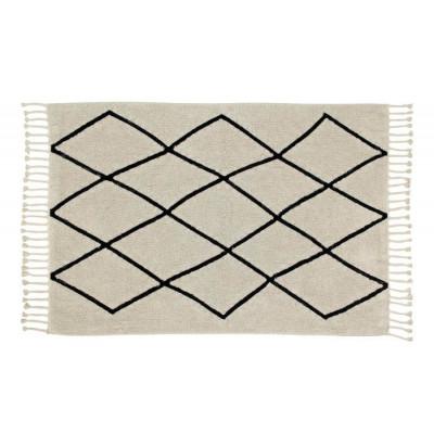 Waschbarer Teppich  | Bereber Canvas | 200 x 140 cm | Beige