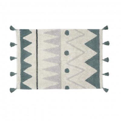Waschbarer Teppich Mini Azteca