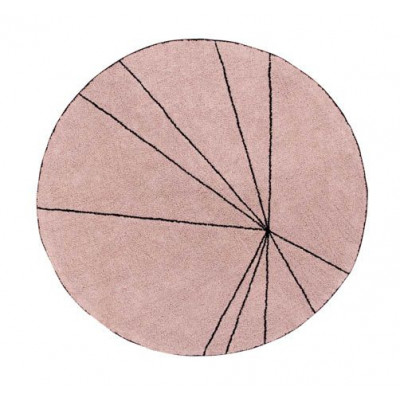 Waschbarer Teppich  | Trace | Viintage Pink