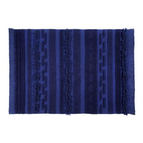 Waschbarer Teppich    Alaska   200 x 140 cm   Blau