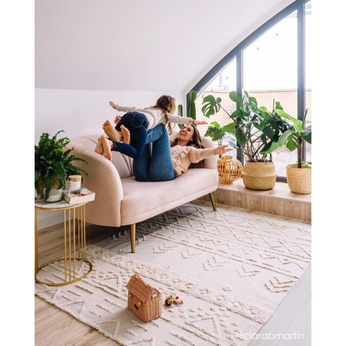 Waschbarer Teppich  | Tribu Naturel-M