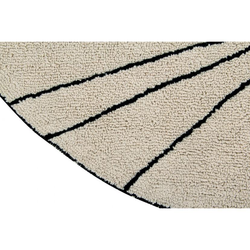 Waschbarer Teppich  | Trace | Beige