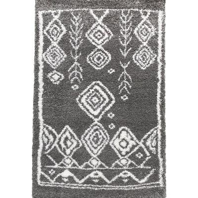 Carpet Payidar Lux Shaggy 3893A I White-Grey 200x290 cm