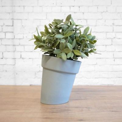 Distorted Flowerpot | Cool Grey