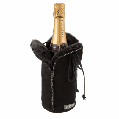 Durable Champagne coolers Of Wool   Black