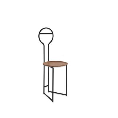 Chairdrobe Joly LB 35x105 cm I Black/Walnut