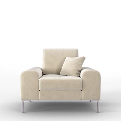 Sessel Rime | Weiß