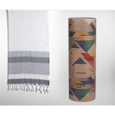 Hamam-Handtuch Phokaia-Rug I Grau