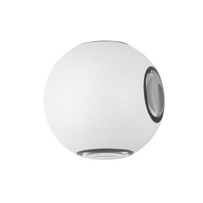 Außenwandleuchte Como 11x8,5 cm I Weiß