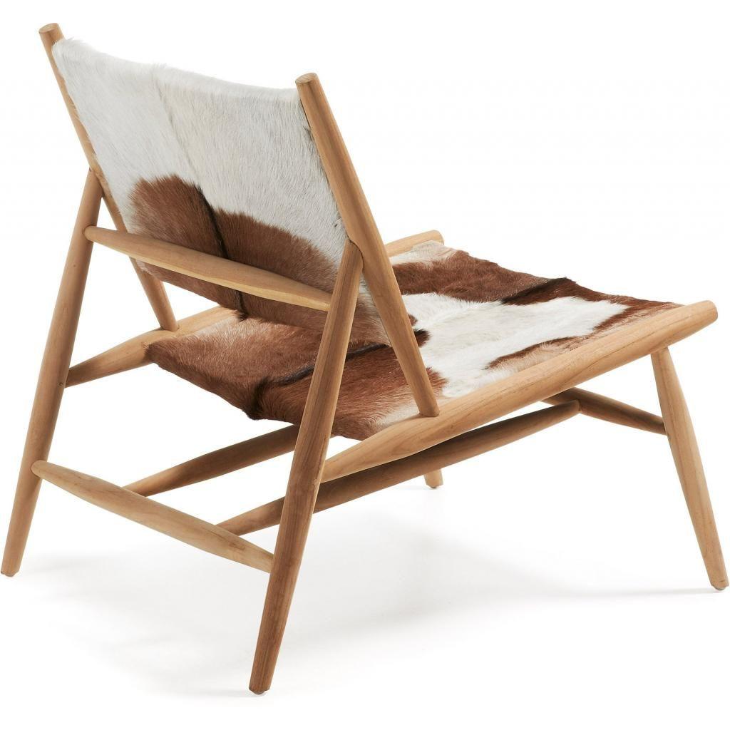 Lounge Chair | Kuhfell