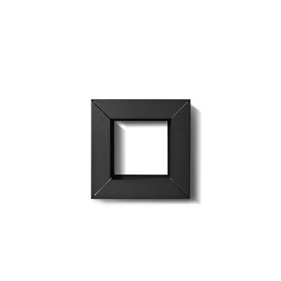 Rahmen Vogelfutterröhre | Schwarz