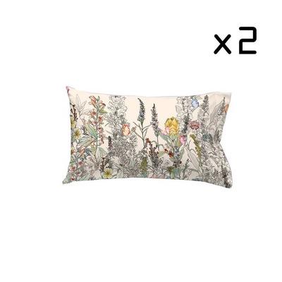2er Set Kissenbezug 50x75 cm I Kinshasa Crema