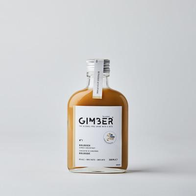 Alkoholfreies Ingwergetränk GIMBER 200 ml