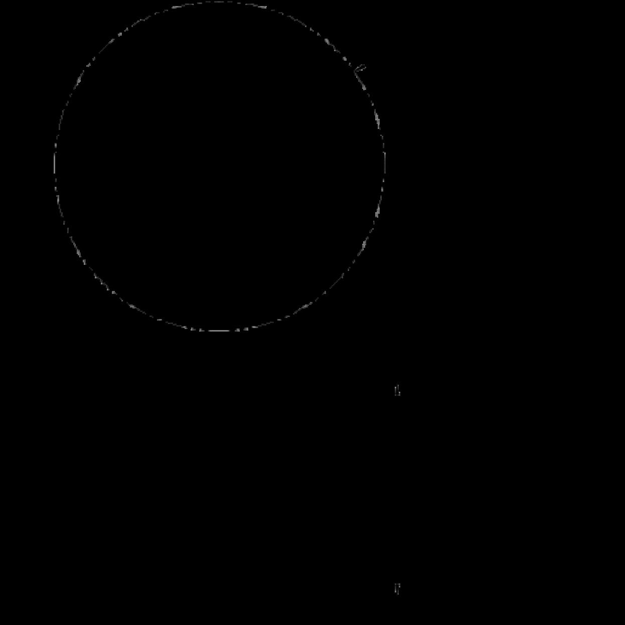 Esstisch Bjørk C62 Linoleum | Natürlich/Dunkelgrün