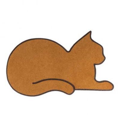 Fußmatte Katze   Braun