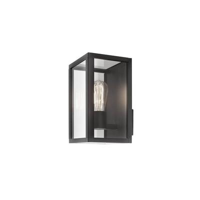 Außenwandleuchte Zest 18x17x28 cm I Schwarz