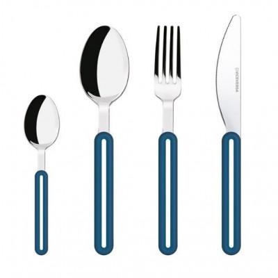 Offset Cutlery Set | Blue